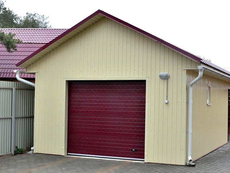 Готовые комплекты гаражей из СИП панелей